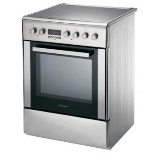 Candy  CCV6525X 50cm 4-zone Hob with 50L Electric Oven