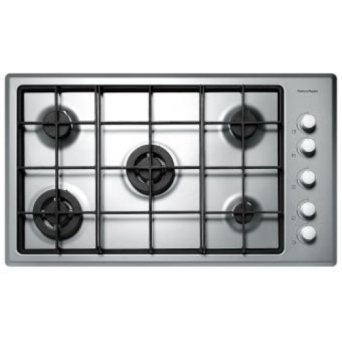 Fisher & Paykel CG905DWFCX1 90cm Built-in 5-burner Gas Hob