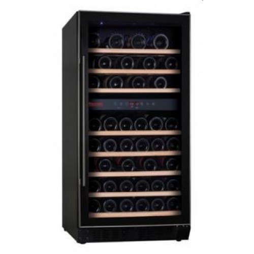 Baumatic BWC1215SS Double Temperature Zone Wine Cooler (94 bottles)