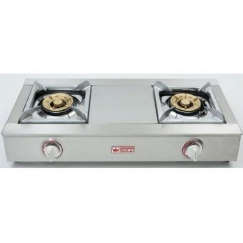Crown CR-8838(LPG) Freestanding 2 Burner LP Gas Hobs
