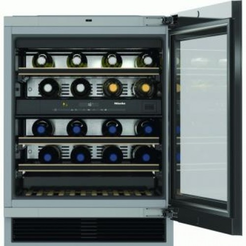 Miele KWT6322UG Built-In Double Temperature Zone Wine Cooler