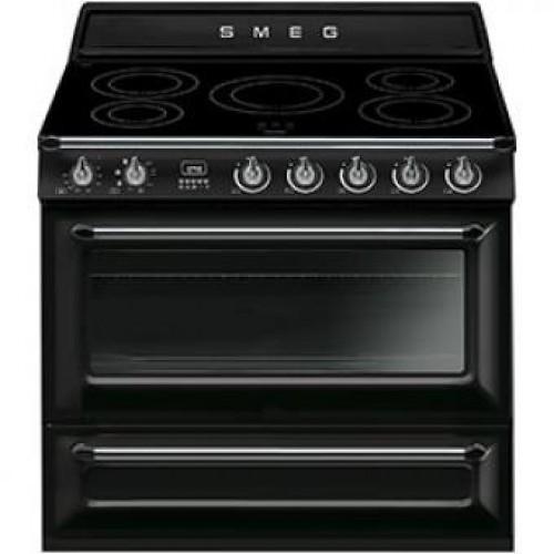 Smeg TR90IBL Victoria Aesthetic 90厘米多功能焗爐連五頭電磁煮食爐