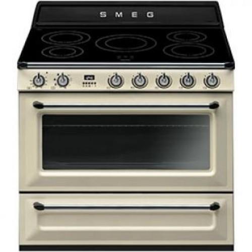 Smeg TR90IP Victoria Aesthetic 90厘米多功能焗爐連五頭電磁煮食爐