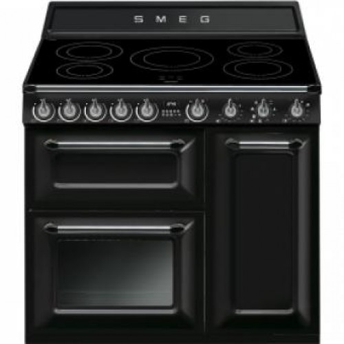 Smeg TR93IBL Victoria Aesthetic 90cm Multifunction Oven With 5-zone Induction Hob
