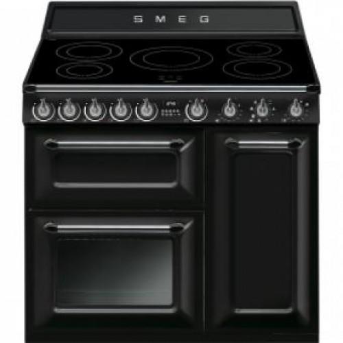 Smeg TR93IBL Victoria Aesthetic 90厘米多功能焗爐連五頭電磁煮食爐