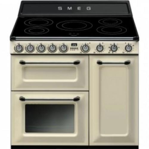Smeg TR93IP Victoria Aesthetic 90厘米多功能焗爐連五頭電磁煮食爐
