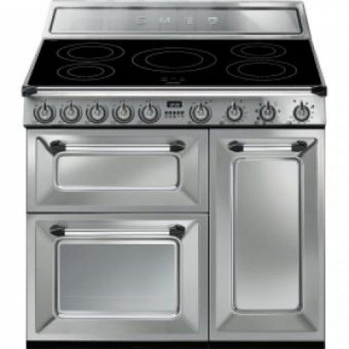 Smeg TR93IX Victoria Aesthetic 90cm Multifunction Oven With 5-zone Induction Hob