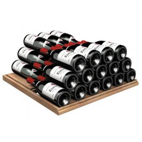 EuroCave  AXUH Fixed wooden shelf with supports for Pure Range