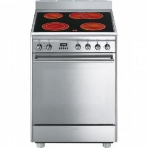 SMEG CX68CM8 60CM Cooker with Multifunction Oven & Ceramic Hob