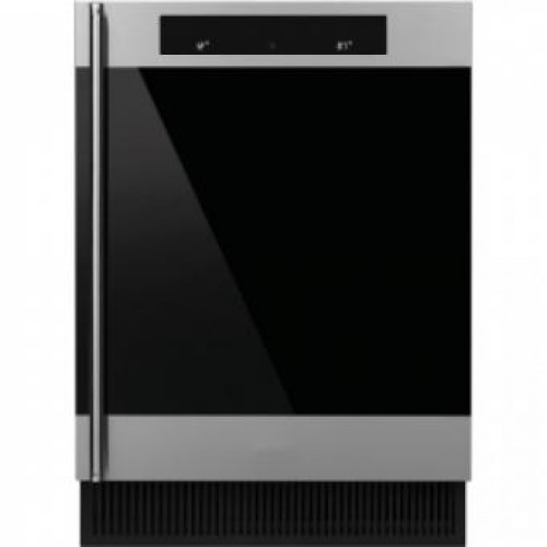 SMEG CVI338X Built-under Double Temperature Zone Wine Cooler