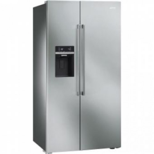 SMEG SBS63XED 91CM Side by Side Refrigerator/Freezer(with ice and water dispenser)