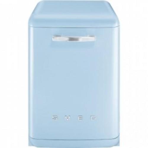 SMEG BLV2AZ-2 60CM 50年代復古獨立式洗碗機(粉藍)