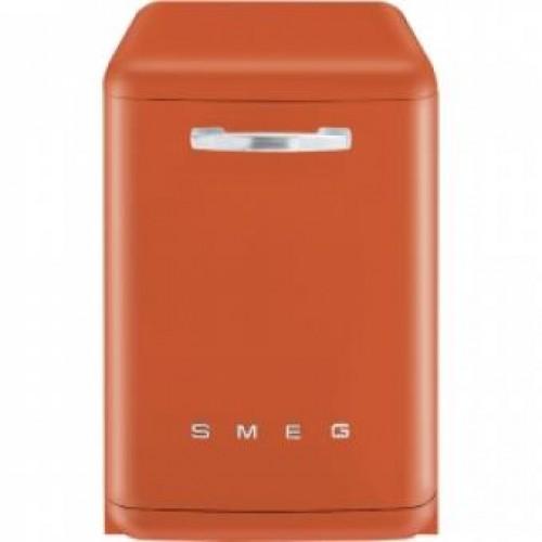 SMEG BLV2O-2 60CM 50年代復古獨立式洗碗機(橙)