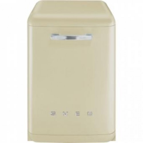 SMEG BLV2P-2 60CM 50's Retro Style Freestanding Dishwasher(Cream)