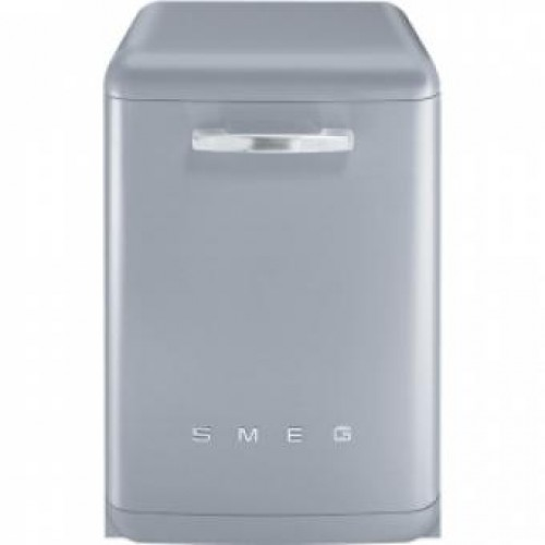SMEG BLV2X-2 60CM 50's Retro Style Freestanding Dishwasher(Silver)