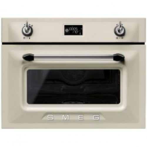 Smeg SF4920VCP Victoria Aesthetic Built-in 60cm Compact Combi Steam Oven