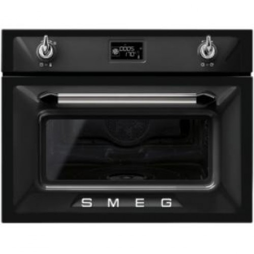 Smeg SF4920VCN Victoria Aesthetic Built-in 60cm Compact Combi Steam Oven