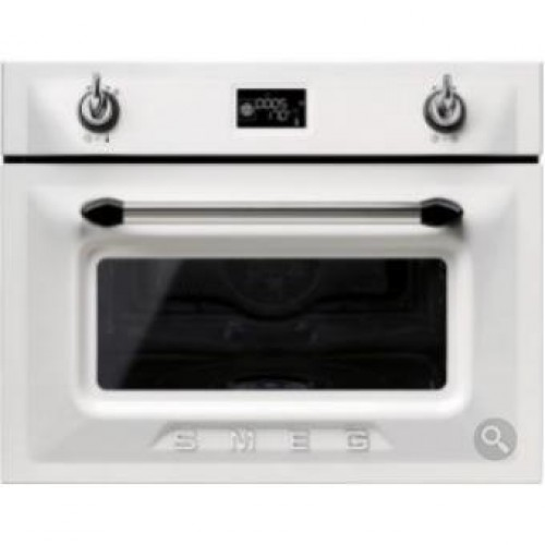 Smeg SF4920VCB Victoria Aesthetic Built-in 60cm Compact Combi Steam Oven