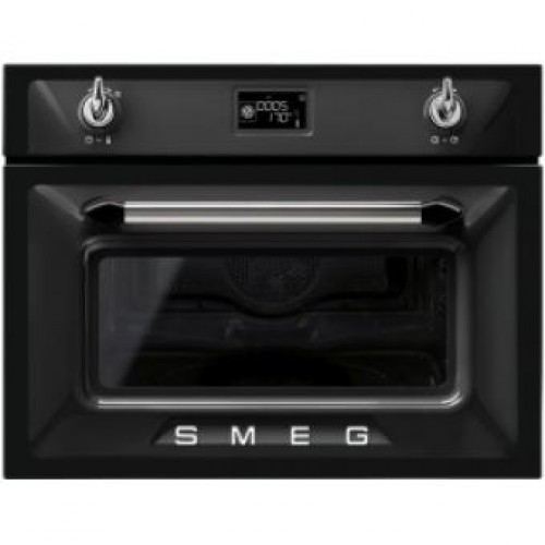 Smeg SF4920MCN Victoria Aesthetic Built-in Compact Combi Microwave Oven