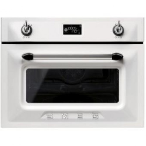 Smeg SF4920MCB Victoria Aesthetic Built-in Compact Combi Microwave Oven