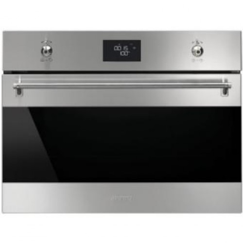 Smeg SF4390VX Classic Aesthetic 60cm Compact Steam Oven