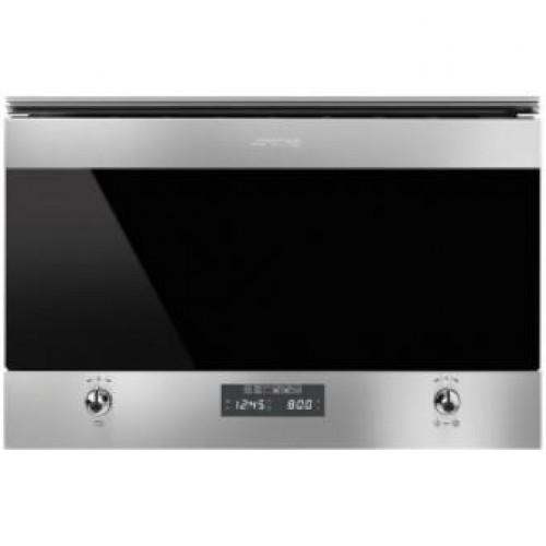Smeg MP6322X Classic Aesthetic 60厘米內置式微波/烤爐