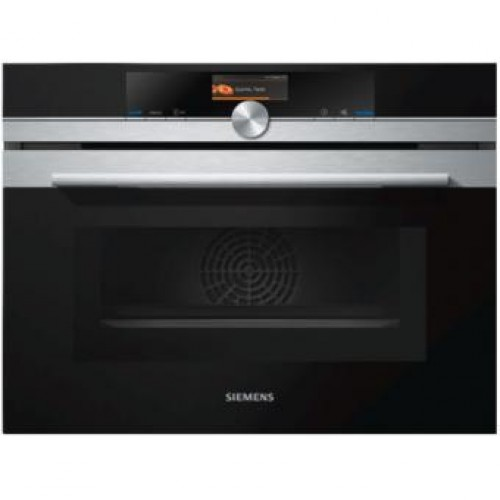 SIEMENS CM656GBS1B Built-in combination oven with microwave