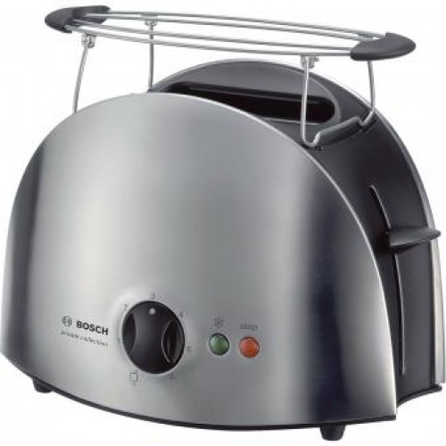 Bosch TAT6901GB Stainless steel Compact toaster