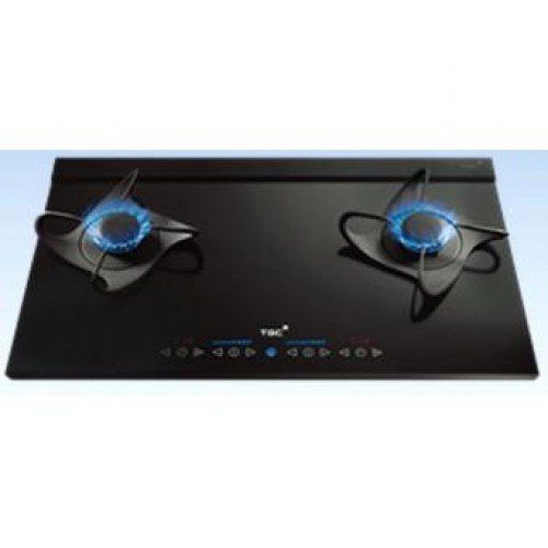 TGC TRJB72VS-C (TG) 70cm Built-in 2 Burner Town Gas Hob