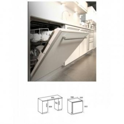 GERMAN POOL 14LS60II Built-In Dish Washer
