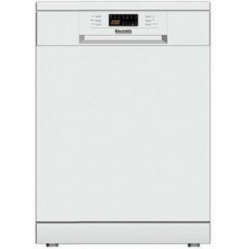Baumatic BDW67W Freestanding Electronic Dishwasher