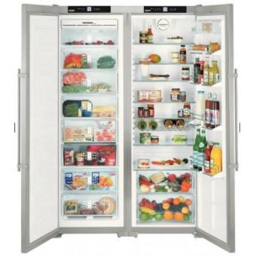 Liebherr SBSes7252 Premium NoFrost Side-by-Side Refrigerators