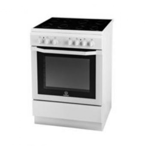 Indesit I6VSH2(W)EX Ceramic Electric Cooker with Electric Oven