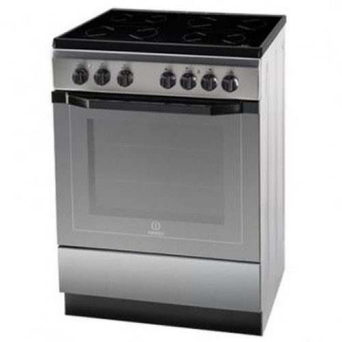 Indesit I6VV2A(X)EX Ceramic Electric Cooker with Electric Oven