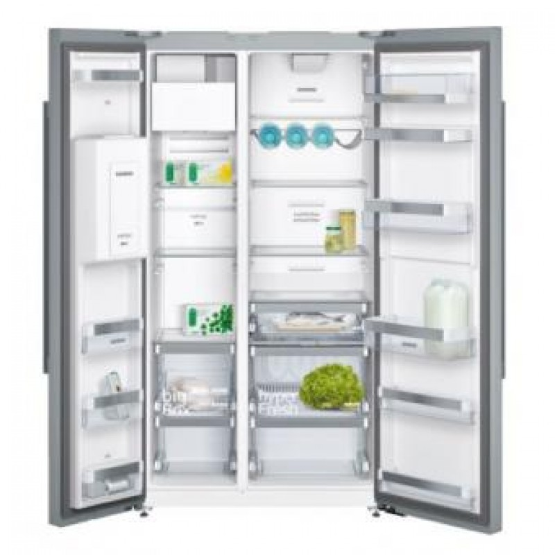 siemens side by refrigerator ka56nv40ne