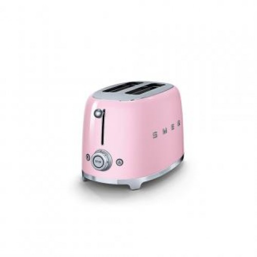 Smeg TSF01PKUK 50's Retro Style Aesthetic Toasters
